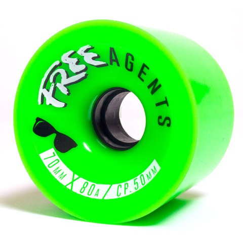 Free Wheels Agent 70mm/80a