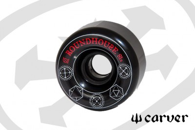 Roundhouse black - 65mm 81a