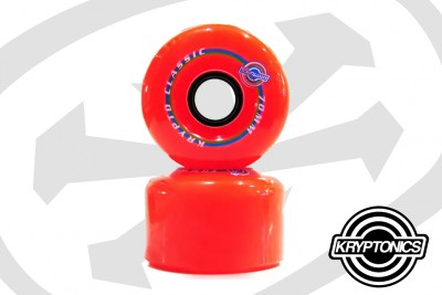 Kryptonics 70mm CLASSIC Rouge 78a
