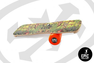 Epic Balance Boards - Jungle Retro