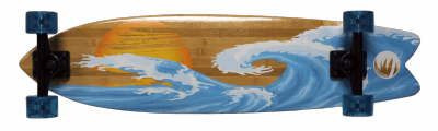 Bamboo Sunset Wave - Planche complète
