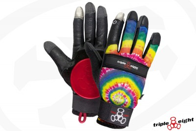 Gants de slide - Downhill - Tie Dye