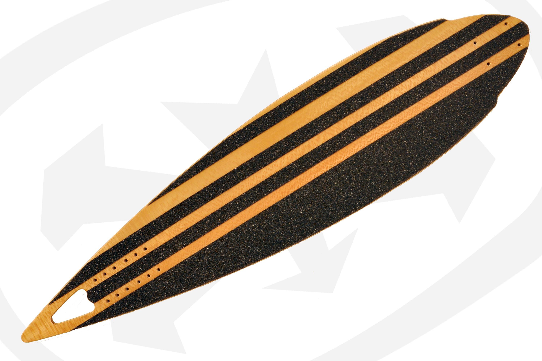 3 - Noir gros grain en bandes