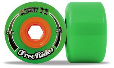 ABEC11 Freeride 72mm/81a